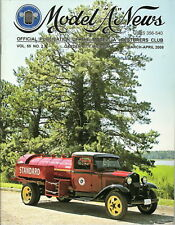 """1931 Ford Model AA Standard Oil Delivery Truck- Model """"A"""" News Official Magazine"""