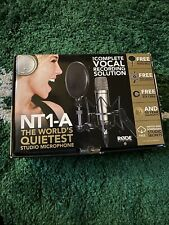 Rode NT1-A microphone Studio Condenser Microphone (Mint Condition)