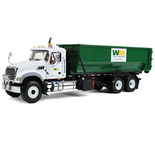 BRAND NEW 2016 WM MACK ROLL OFF GARBAGE TRUCK W/ NEW STYLE TUB MIB by first gear
