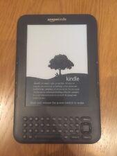 Amazon Kindle Keyboard 3G WiFi  (3rd Generation)