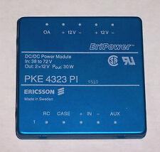 *NEW* Ericsson EriPower PKE 4323 PI DC-DC Converters, 38v-72v In - 2x12v 30w Out