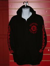 Hells Angels Wales  - Support 81 South West Hoodie in Black & Red