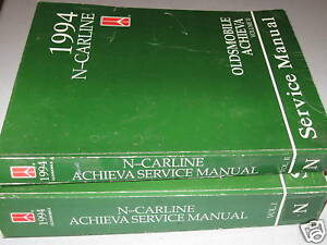 1994 Oldsmobile Achieva N-Carline Service Manuals