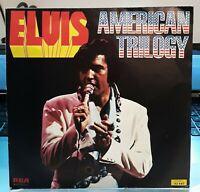 "Trés Rare SP ELVIS PRESLEY "" American Trilogy "" RCA Victor Orange Label 1976 EX+"