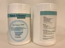 Cleaning wipes Pack of 2 [100ct/Canister] FDA registered Nano Cleaner PCMX