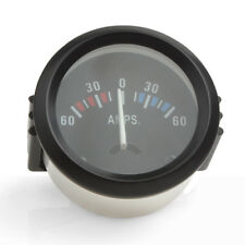 2Inch 52mm Universal Ammeter 60-0-60 AMP Gauge Meter for Car Boat  Truck DC12V