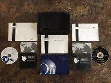 2007 GMC Acadia Owners Manual w/ Navigation Manual & Nav Map Disc w/ Case - #F
