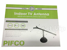 1PC TV AERIAL ANTENNA INDOOR UHF DIGITAL ANALOGUE SET TOP CARAVAN HOME OFFICE