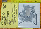 Plano #318 American Limited Walkway -- Union Pacific Style w/Placards  (HO Scale