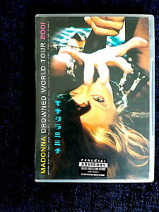 MADONNA - DROWNED WORLD TOUR 2001 DVD Full Stereo&5.1 Surround Free P+P Like New