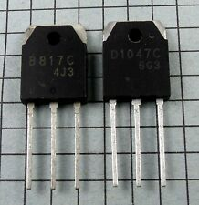 2SB817C & 2SD1047C, B817C / D1047C Power Transistors : 1 pair ( 1 each ) per Lot