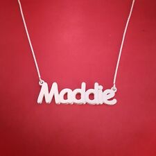 child size name necklace, birthday gift for girl, Order any name! name neckless