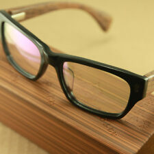 Real WOOD Plastic Spring glass Frame eyeglass Hand Made Frame Japan 8310 Unisex