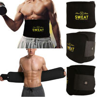 Men's Abdomen Fat Burner Belly Compression Body Shapers Slim Waist Trainer Belt