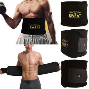 Men Abdomen Fat Burn Compression Body Shaper Shaperwear Slim Waist Cincher Belt