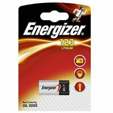 Energizer Cr123a 123 3v Lithium Photo Battery