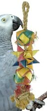 02049 Large Comet Bonka Bird Toys Cages Toy Cage Foraging Chew Shredder Conure