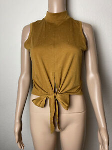 Lululemon Womens Sz 2/4? See Measurements Knotted Front Tank Top Shirt