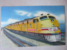 City of San Francisco Streamliner Crossing Great Salt Lake Postcard & Letter