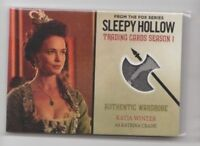 CRYPTOZOIC SLEEPY HOLLOW SEASON 1 Costume Trading Card Katia Winter #M03 (03)