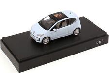 VW UP! HIGH UP! 1.0L 3 DOOR 2012 LIGHT BLUE 1:43 SCHUCO (DEALER MODEL)