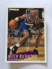 1994-95 Fleer NBA Basketball Card - Sacramento Kings #195 Mitch Richmond