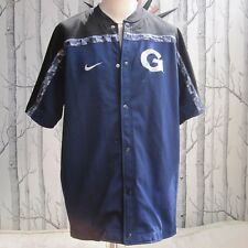 Georgetown Uni GU Hoyas Vintage 90s Nike Football Shirt Jersey Men's L Large