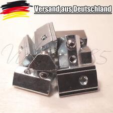10 Nutensteine Nut 8 Profil mit Steg, Schrauben M3, 3D Drucker Nachmonatge L0098