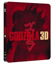 GODZILLA 3D (2 BLU-RAY 3D + 2D) STEELBOOK LIMITED EDITION