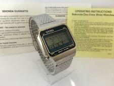 Sekonda Multi Alarm  Quartz LCD LED Rare Collectible Watch
