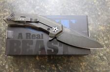 NEW KAI Zero Tolerance ZT 0095BW Flipper Folding Knife Titanium & S35VN PRIORITY