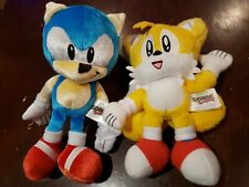 RARE Tomy 25th Anniversay Sonic The Hedgehog Plush and tails  Toy Game Sega