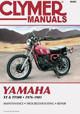 CLYMER REPAIR MANUAL Fits: Yamaha TT500,XT500