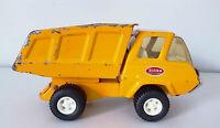 Vintage Tonka Mini Construction Orange Dump Truck # 1230, 1972, Original condit.