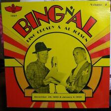Bing 'n Al - Bing Crosby & Al Jolson - 12/28/1949 & 1/4/1950 - LP Totem 1007