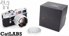 Leica M-4 35mm rangefinder camera with BRAND NEW 50mm F1.1 lens (7artisans) M4