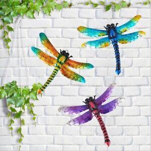 3P Colours Shudehill Medium Metal Dragonfly Garden Wall Art Ornament Home Decor