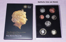 2015 ROYAL MINT FOURTH EFFIGY DEFINITIVE PROOF COIN SET - Final Edition