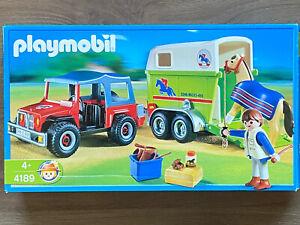 Playmobil Pferde Anhänger 4189