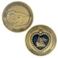 RMS Titanic Heart of Ocean Nude Good Luck Challenge Coin US SELLER FAST SHIPPING