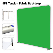 Tension Fabric Display Photo Booth Backdrop- Green Screen Chroma Key