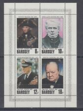 Cinderella  Bardsey   Europa 1980  Lord Nelson  Churchill  etc.  Block  **