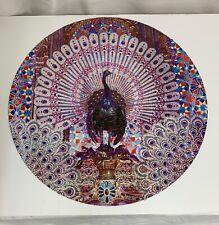 Vintage 1973 Springbok Circular Jigsaw Puzzle, Peacock Throne - 59990