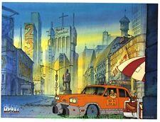 HEAVY METAL MOVIE POSTER Original Harry Canyon Taxi Style IVAN REITMAN 1981 Film