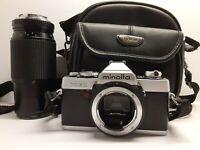 Minolta XG-1 45mm 1:2 SLR Film Camera Untested Parts Only