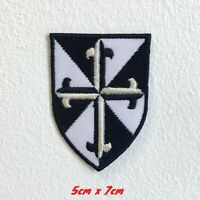 The Dominican order badge Embroidered Iron Sew On Patch #1610