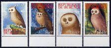 Burundi 2009 Eulen Owls Vögel Birds 1926-1929 Postfrisch MNH