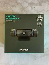 Logitech C920 HD Pro 1080p Webcam - Black **IN HAND** Fast Shipping!