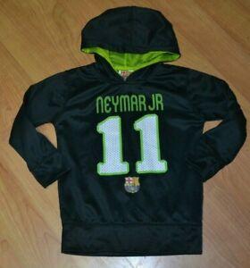 FC Barcelona Football Soccer Jersey Hoodie Sweat Shirt Neymar Jr Youth 6 Nice