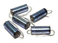5x erofol i condensador, 0.27 µf/160 VDC, vintage capacitors, nos